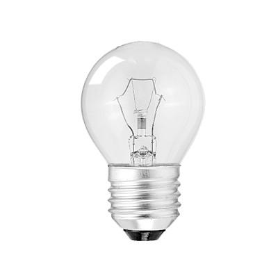 Лампа накаливания Р45 40Вт 220В Е27 шар проз-й ASD